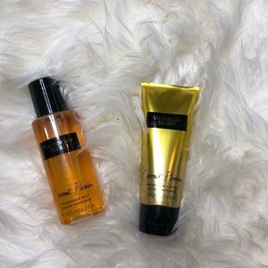 Victoria's Secret spray and lotion set